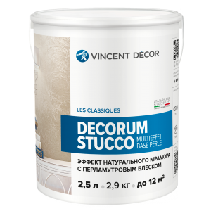 Decorum Stucco multieffet base Perle